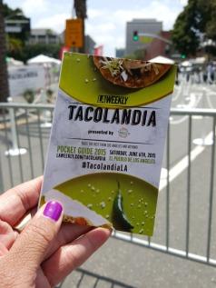 Tacolandia 2015 at El Pueblo De Los Angeles in Downtown Los Angeles.