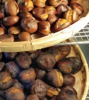 Hisaya Kiyoto Roasted Chestnuts in Torrance, California.