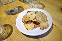 Salt & Vinegar Taro Chips by LASA Pop-up.