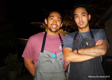 Filipino Chefs Kyle Barretto and AJ Santiago of Kalan Kitchen.