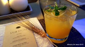 Manila Mule Cocktail.