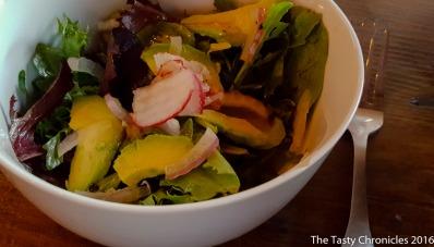 Arugula Salad with a Calamansi Vinaigrette.