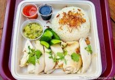 Hainan Chicken at Side Chick - Westfield Santa Anita Mall, Arcadia (Los Angeles).