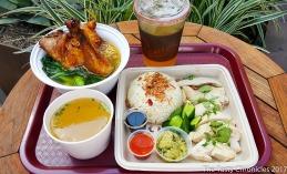 Dining at Side Chick - Westfield Santa Anita Mall, Arcadia (Los Angeles).